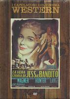 dvd LA VERA STORIA DI JESS JESSE IL BANDITO con R. Wagner nuovo slipcase 1957