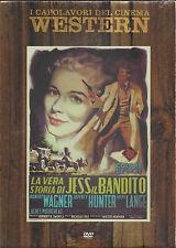 Dvd **LA VERA STORIA DI JESS JESSE IL BANDITO** con R.Wagner Nuovo Slipcase 1957