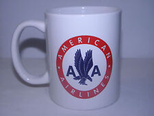 AMERICAN AIRLINES COFFEE CUP MUG AIRPLANE PILOT F/A FATHERS DAY / CHRISTMAS GIFT