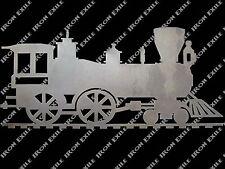 Locomotive Steam Train Engine Railroad Metal Art Plamsa Wall Sign Gift Idea