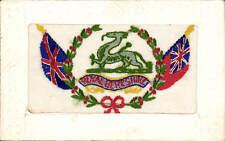 WW1 Regimental Silk. Royal Berkshire Regiment by ? CMM, Paris.