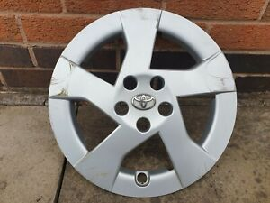"Single Toyota Prius 15"" Wheel Trim Hub Cap x1 Genuine Used Part"