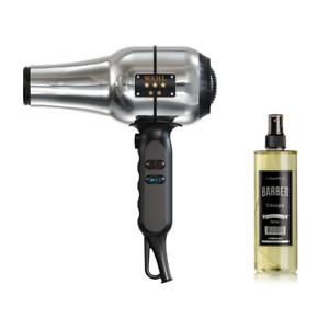 Wahl 5 Star Barber Hair Dryer Retro Metal House + Marmara Barber Cologne 400ml