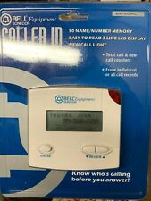 Bell Caller Id Name & Number Be-50Nl New Sealed