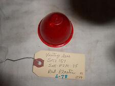 VINTAGE LENS . SATE 157 SAE-P2PC-75, RED PLASTIC