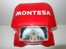 MONTESA COTA TRIAL RED CONTAINERS WITH LIGHT