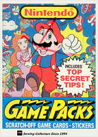 1989 Topps Nintendo Game Packs Trading Card Original Box (48 Pks)-LAST STOCK