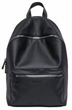 REPLAY Eco-Leather Backpack Rucksack Laptoptasche Tasche Black Schwarz Neu