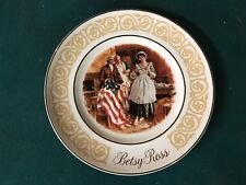 Knowles Betsy Ross Collectible Plate