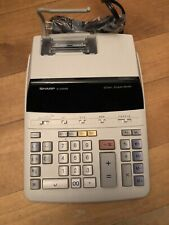 Sharp EL-2192Rll Adding Machine Calculator 12 digit 2 color
