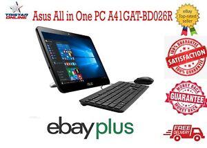 "Asus All in One PC 15.6"" A41GAT Intel Celeron N4000 4GB/256GB SSD Win 10P Black"