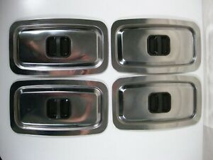 Vintage Heated Philips Hostess Trolley Spare Dish Lid with Handle x 4