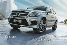 Prospekt Mercedes Benz Clase GL 5 12 2012 auto folleto auto turismos brochure