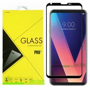 FULL COVER Premium Tempered Glass Screen Protector For LG V30/V30S/ V35 ThinQ