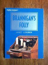 Janet Lorimer BRANNIGAN'S FOLLY Fearon Double Fastback Mystery L@@K WOW!!!