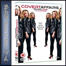 COVERT AFFAIRS - COMPLETE SEASON 4  **BRAND NEW DVD ***