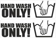 Adesivi adesivo sticker tuning auto moto jdm scooter hand wash lavare a mano