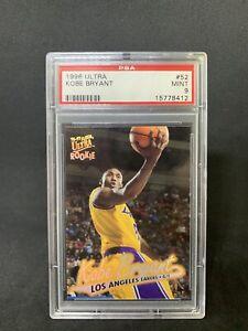Kobe Bryant 1996 Fleer Ultra Rookie PSA