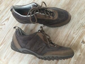 Merrell Moto Gunsmoke Brown  Leather Shoes Size 9 Excellent Condition