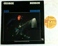GEORGE BENSON - Bad Benson 1983 Jazz Funk Vinyl LP Album CTI 9004 VG+ (Take Five