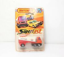 Matchbox 75 Superfast No 63 Freeway Tanker Gas In Its Original Box