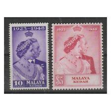 MALAYA  KEDAH 1948 NOZZE 2 VAL MNH YVERT N. 62/63  MF73177