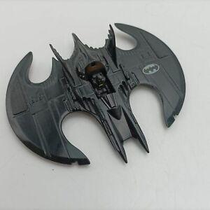 Vintage Die-cast Batman Batwing (1989) ERTL DC Comics [Missing Canopy]