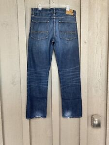 Mens AMERICAN EAGLE Relaxed, Straight Leg Jeans, Size 34x34