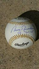 BOBBY RICHARDSON SIGNED GOLD GLOVE BASEBALL RAWLINGS INSC GG 61-65 NY YANKEES