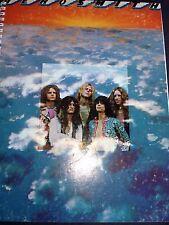for the   AEROSMITH 1973 debut JOE PERRY STEVEN TYLER FAN~ ALBUM COVER NOTEBOOK