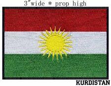 Kurdistan Flag Embroidery Patch  free shipping worldwide