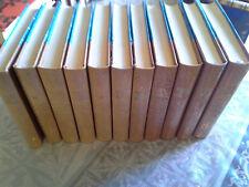 Lot de 11 sur 18 volumes Histoire de France Michelet, Boutan Marguin 1961
