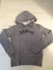 SWEAT REPLAY FEMME COMME NEUF TAILLE S GRIS CHINÉ AVEC CAPUCHE