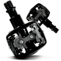 Wellgo Mtb Mountain Bike Pedals and Cleats Spd Compatible Wpd-823