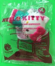 MCDONALDS 2015 HELLO KITTY #4 HELLO KITTY STICKER DISPENSER HAPPY MEAL TOY