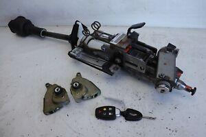 Aston Martin DB9 2005 V12 Steering Column Ignition Key Door Lock Set RHD J136
