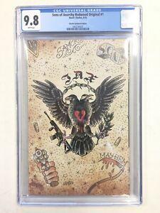 Sons of Anarchy Redwood Original  #1 CGC 9.8 JJUFS Variant Cover