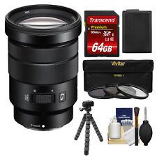 Sony Alpha NEX E-Mount 18-105mm f/4.0 OSS PZ Lens NEX-3N 5 5N 5R 5T 6 7 Camera