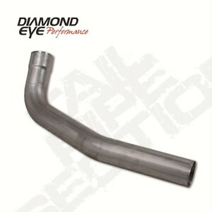 "Diamond Eye 221005 4"" Tailpipe, 2nd Section, Aluminized, For 94-Early 07 Dodge"