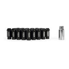 Mishimoto x Rockstar Aluminium Locking Wheel / Lug Nut Set - M12 x 1.25 - Black