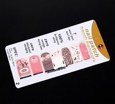 Christmas In Pink Nail Art Sticker Patch Decal Manicure Decoration Reindeer ⛄�
