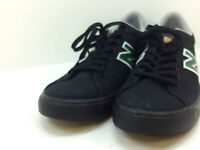 New Balance Mens Numeric Suede Low Top Lace Up Fashion, Black/Green, Size 10.5 U