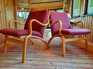 Armchair Club Chair Vintage 60er Retro Easy Chair Danish Stouby Denmark 1/2