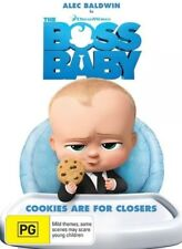 THE BOSS BABY DVD ALEC BALDWIN NEW & SEALED- FREE POSTAGE!