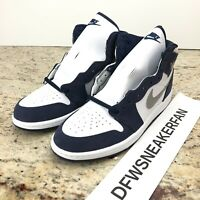Nike Air Jordan 1 Retro High COJP Midnight Navy PS AQ2664-141 Size 1Y New