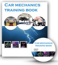 Car Mechanics Mechanic Tools Training Book Course Disc