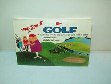 Mini Golf board game New Old Stock factory sealed made in British Hong Kong