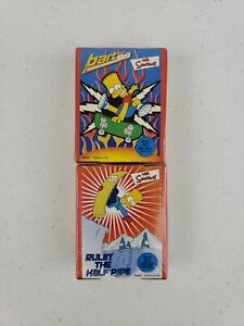 NEW RoseArt The Simpsons Bart Sk8 & Rulin The Half Pipe Mini 50 Piece Puzzles