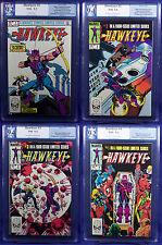 Hawkeye #1-4 (1984) NM PGX 9.4 - 9.2 (not CGC) Civil War is here!!!  LTD series!