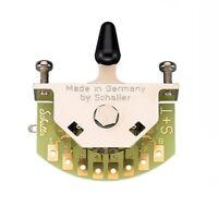 Schaller Megaswitch S Electric Guitar - 5 Way 15310003